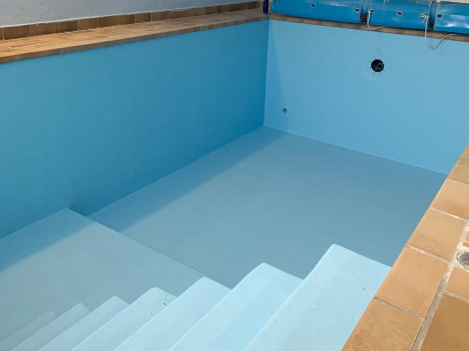 Schwimmbecken GFK Beschichtung